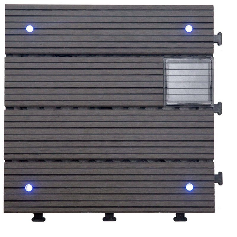 Garden lamp solar light deck tiles SSLB-WPC30- LDP