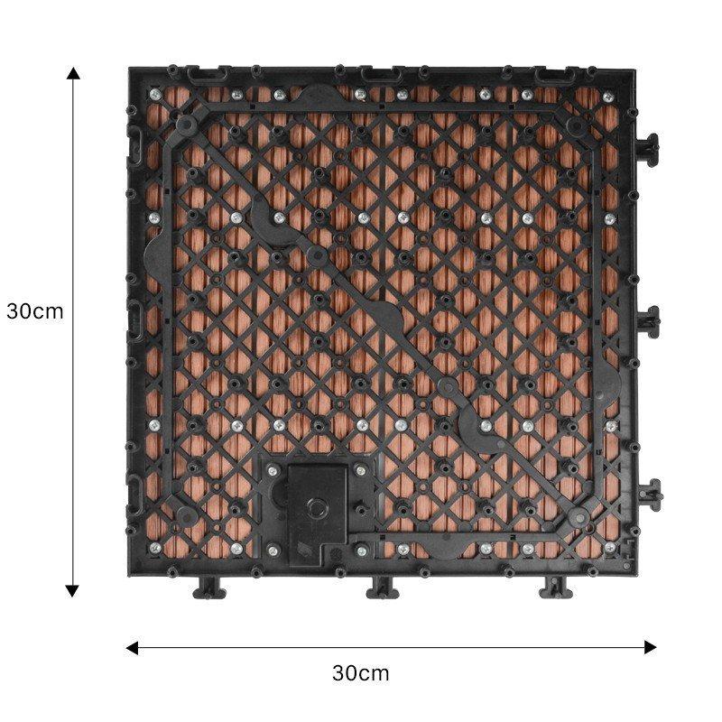 solar light tiles home deck JIABANG Brand