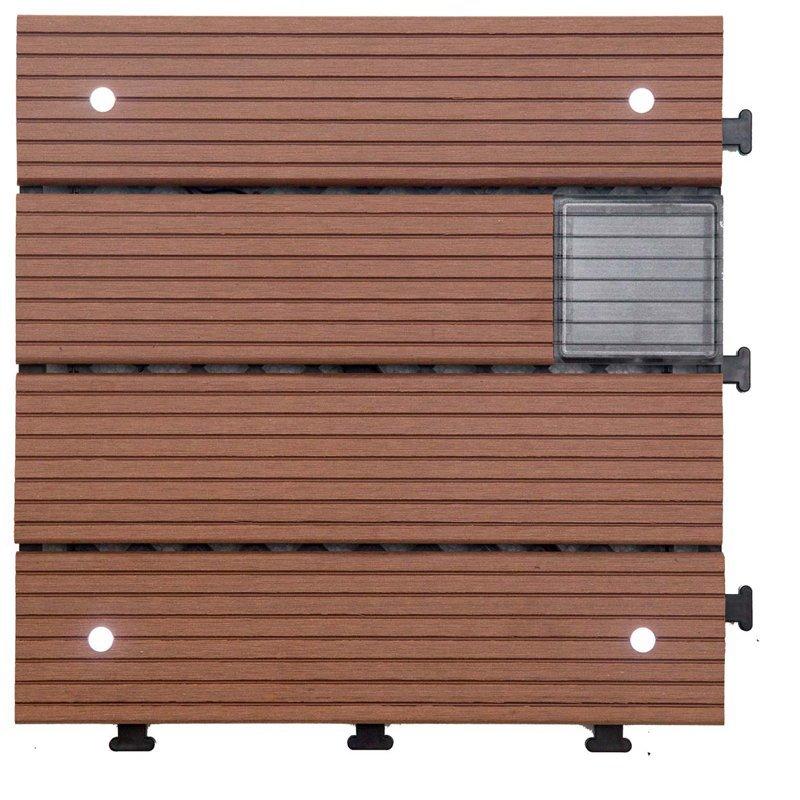 Garden lamp solar light deck tiles SSLW-WPC30 BP
