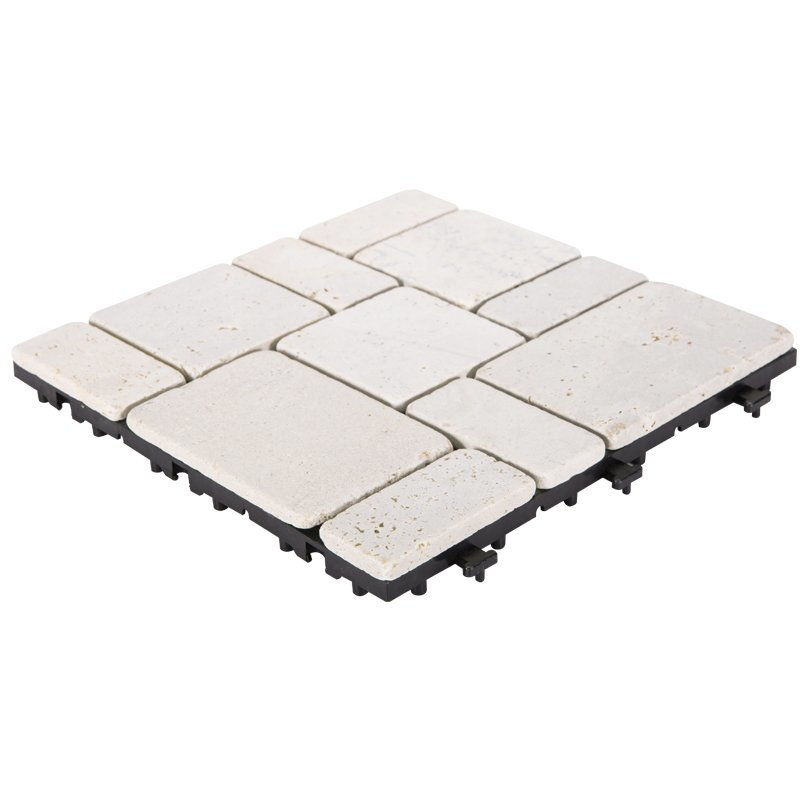 outdoor DIY tile natural travertine stone TTS11P-YL