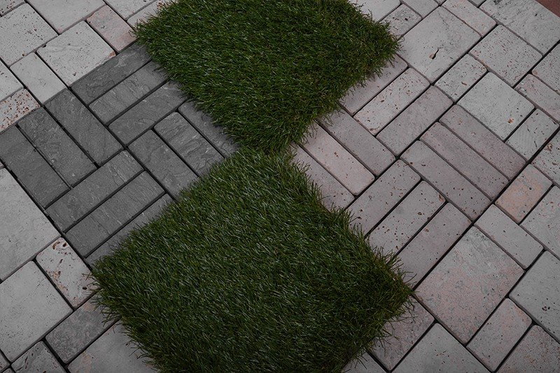 diy tile walkway