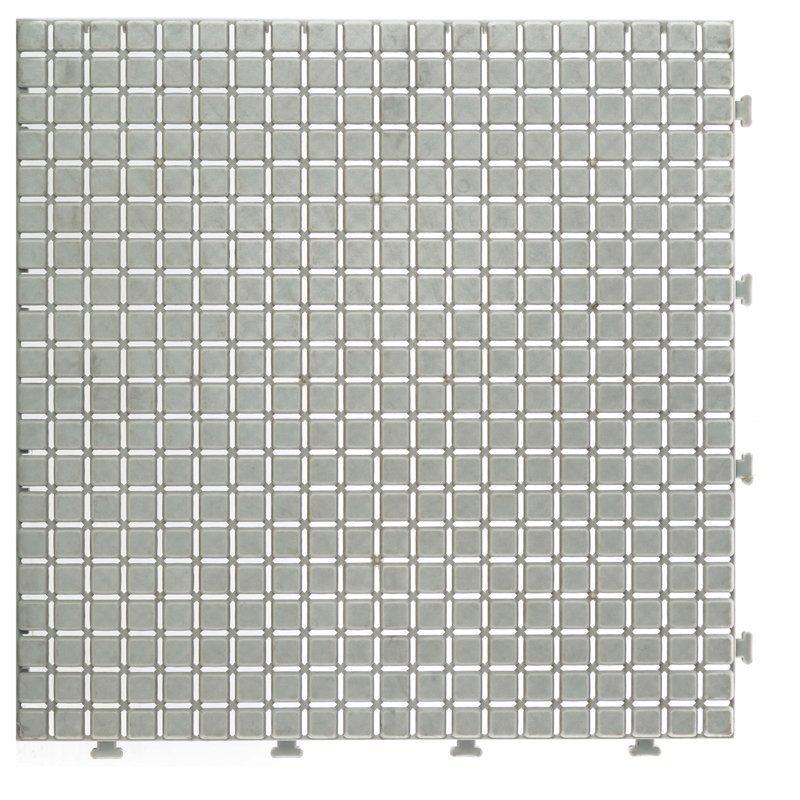 Non slip bathroom flooring plastic mat JBPL3030N cream