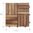 acacia tile flooring solid JIABANG Brand acacia deck tile