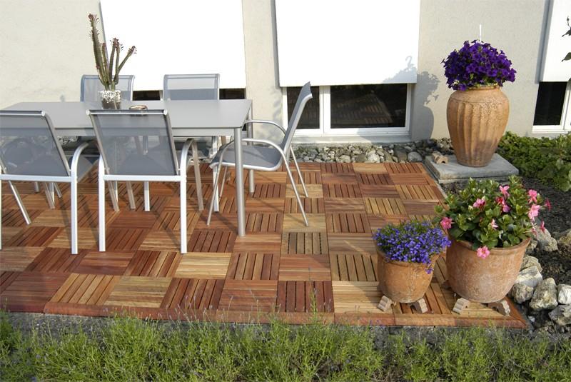 garden party flooring