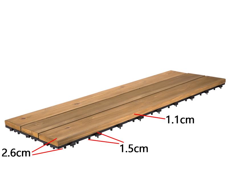 outdoor tile wood floor