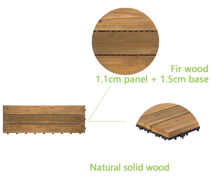 wooddeck tileinstallation