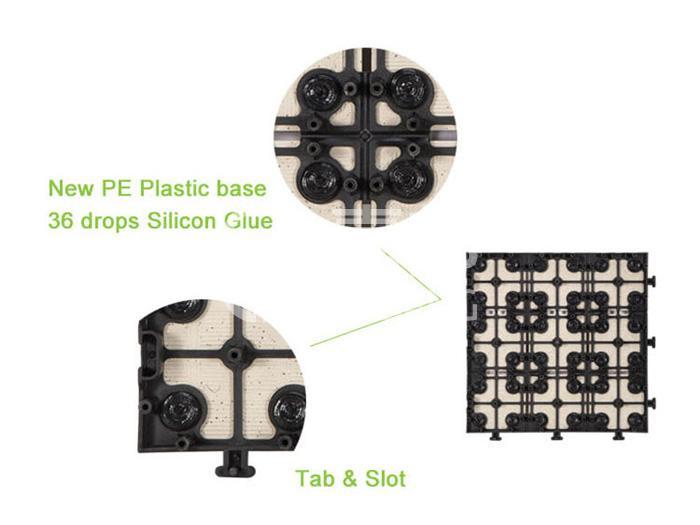 eco decking tiles price