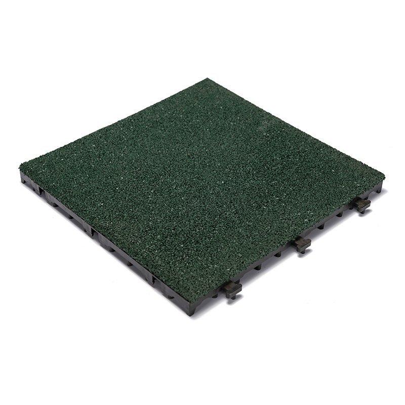 Playground rubber composite Tiles XJ-SBR-GN001