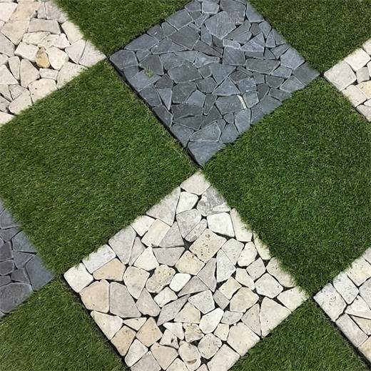 Garden path artificial grass deck tiles G001-4