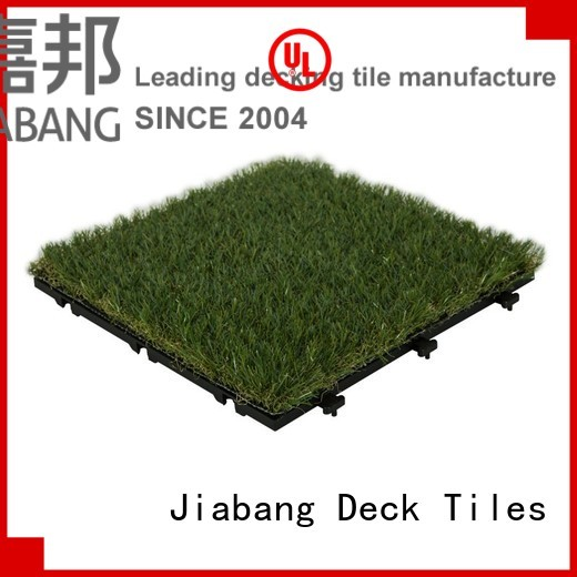 Custom landscape g004green grass floor tiles JIABANG mat