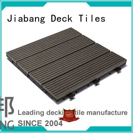composite wood tiles install composite composite deck tiles patio JIABANG Brand