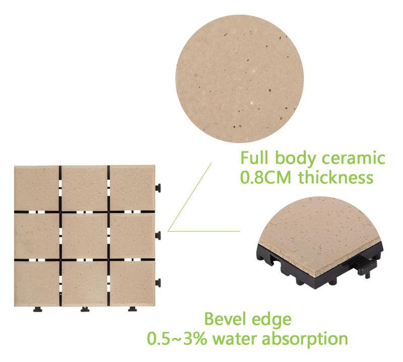 tile outdoor decking