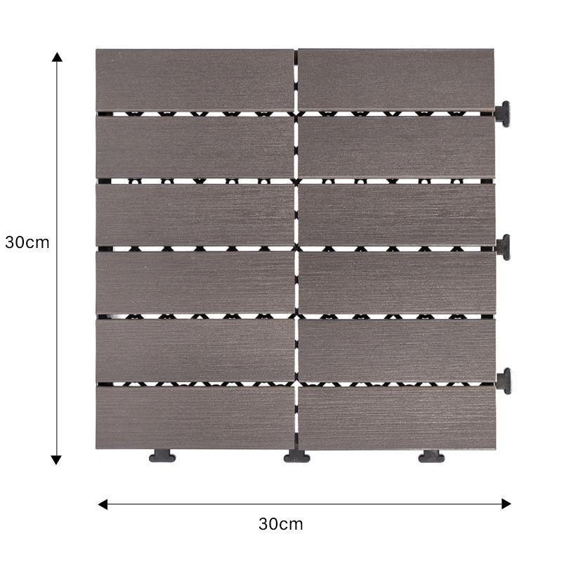 plastic deck tile