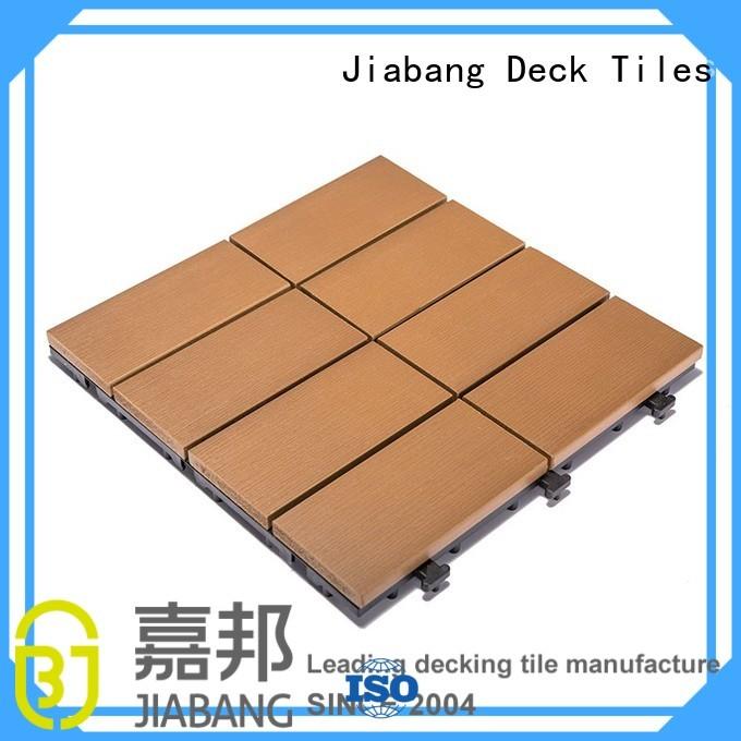 Quality JIABANG Brand deck plastic decking tiles