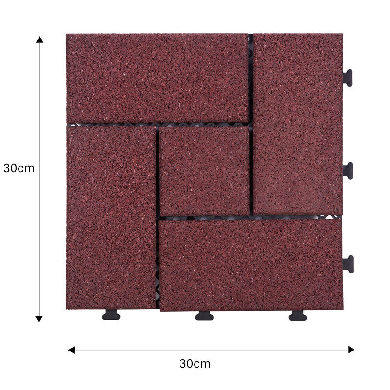 plastic interlocking outdoor tiles