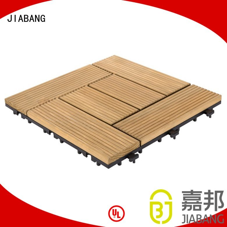 Wholesale tiles interlocking wood deck tiles JIABANG Brand