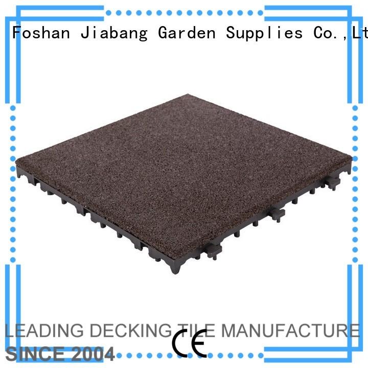 rubber mat tiles porch sport JIABANG Brand company