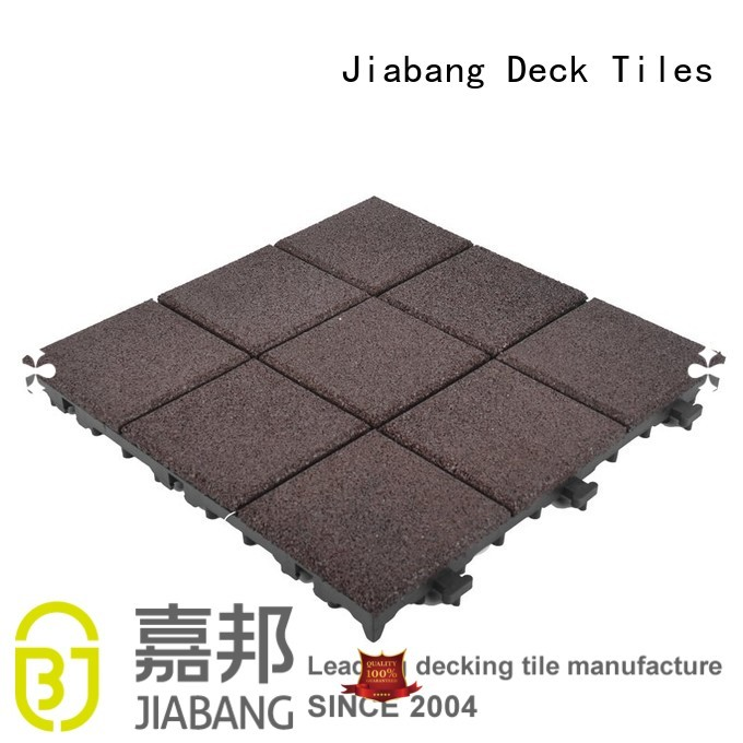 rubber mat tiles direct exterior outdoor Warranty JIABANG