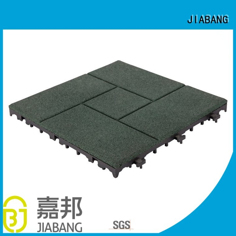 JIABANG Brand flooring direct tiles rubber mat tiles decking