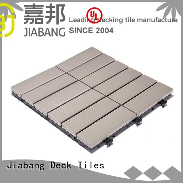Custom gazebo path plastic decking tiles JIABANG tile