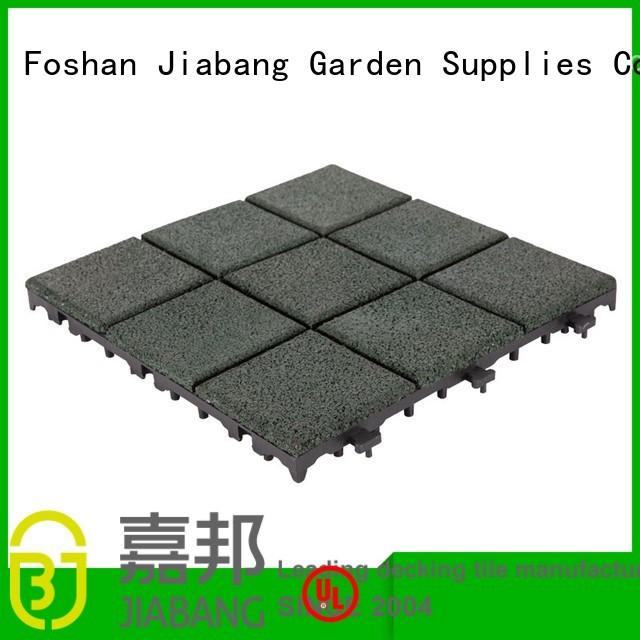 rubber mat tiles patio exterior court JIABANG Brand