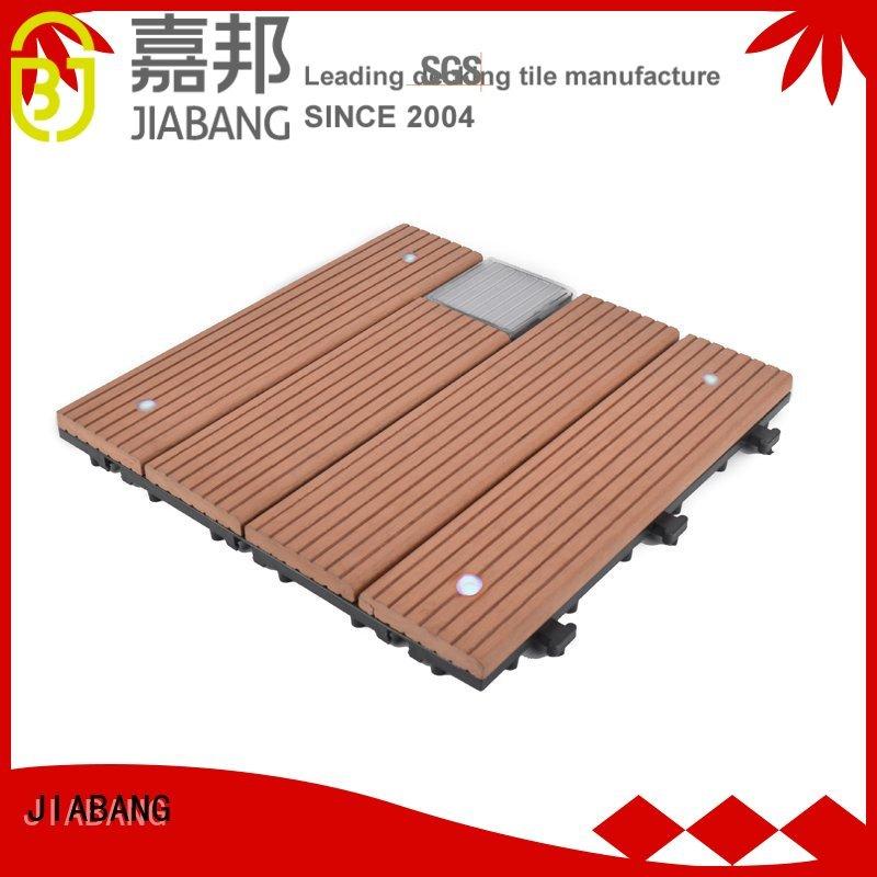 lamp tiles solar balcony deck tiles JIABANG