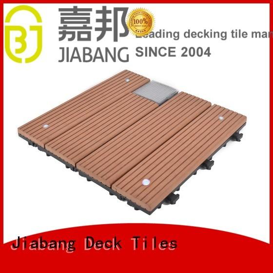 home led OEM balcony deck tiles JIABANG