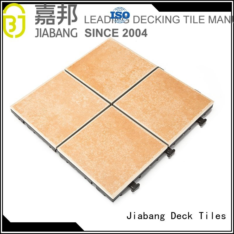 JIABANG Brand diy outdoor frost proof tiles manufacture