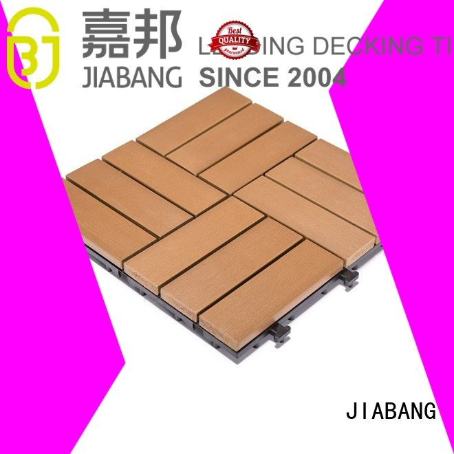 path decking plastic decking tiles tile JIABANG company
