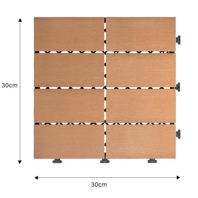 Teak wood floor