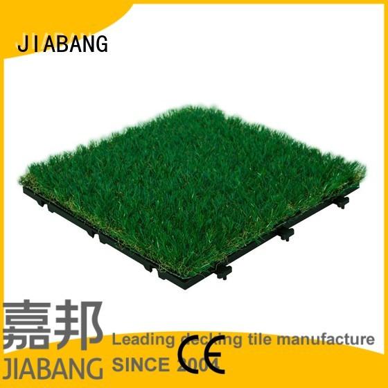 interlocking grass mats mat JIABANG Brand grass floor tiles