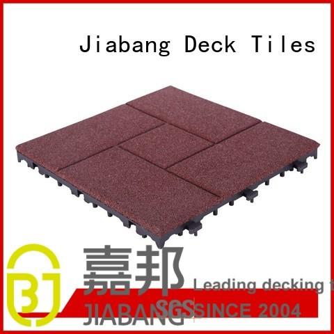 rubber mat tiles exterior tiles tile Warranty JIABANG