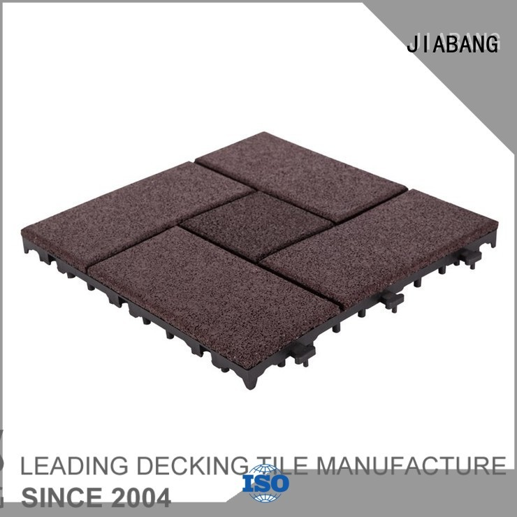 rubber mat tiles sport together outdoor JIABANG Brand