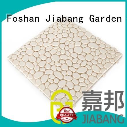 plastic floor tiles outdoor flooring Bulk Buy sand JIABANG