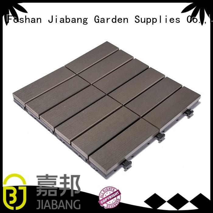 floor deck path JIABANG Brand pvc deck tiles factory