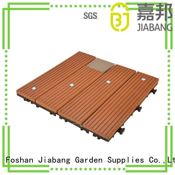 led deck solar light tiles JIABANG manufacture