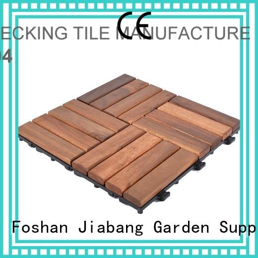 acacia tile flooring acacia JIABANG Brand acacia deck tile