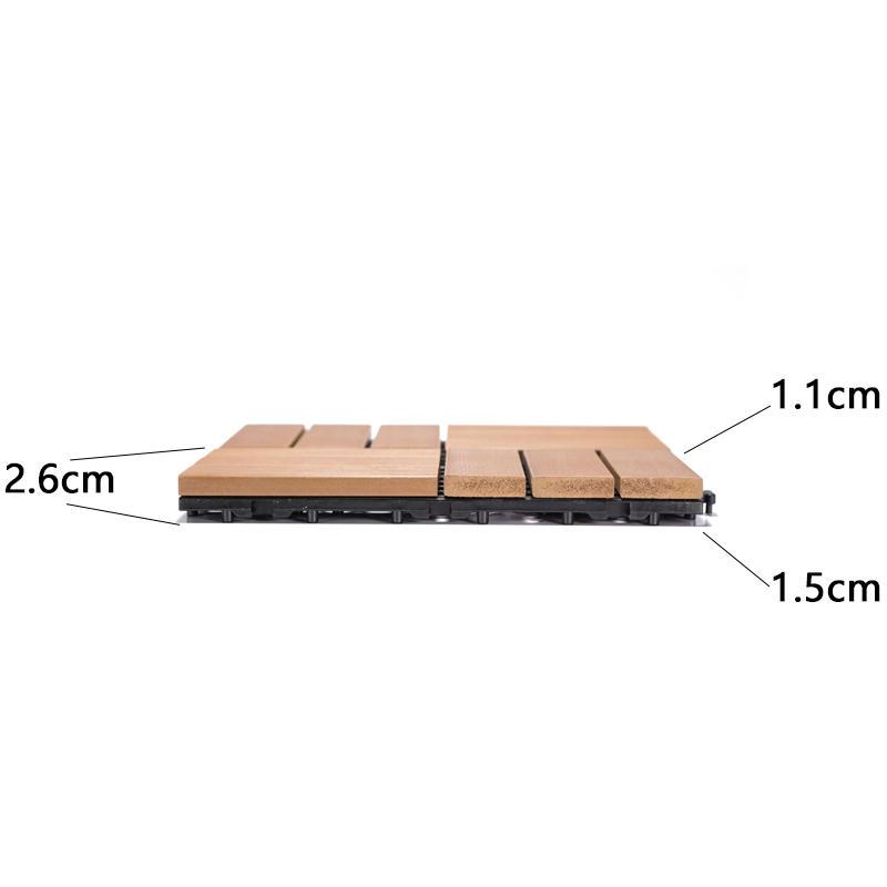 plastic decking tile
