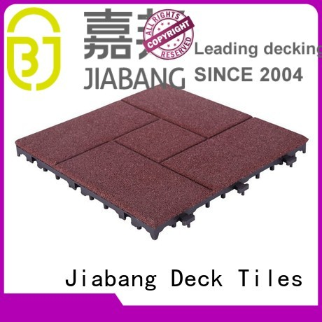 JIABANG Brand composite tiles gym custom rubber mat tiles