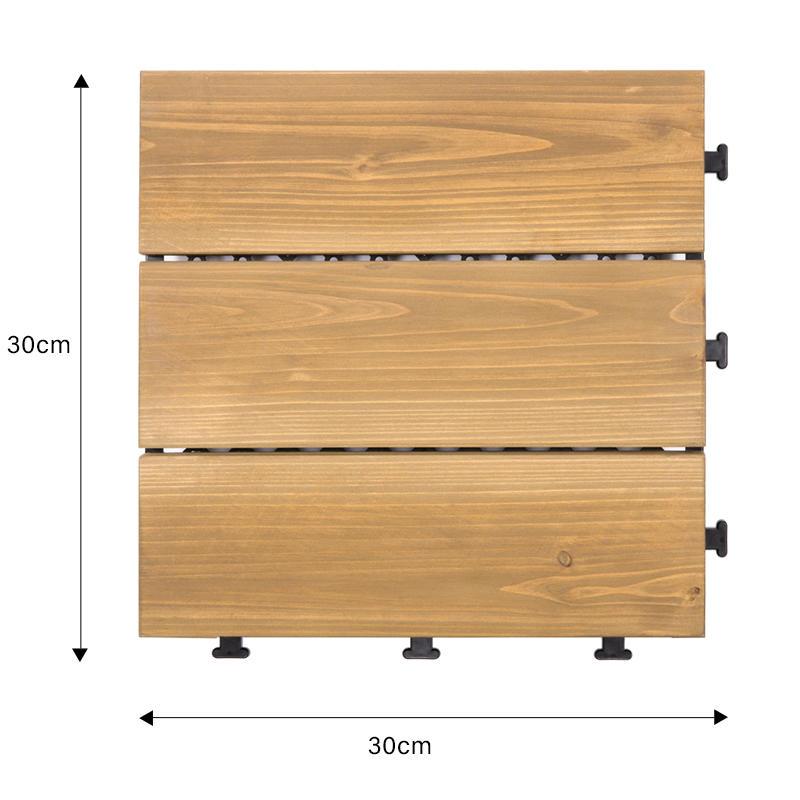 deck tiles wooden