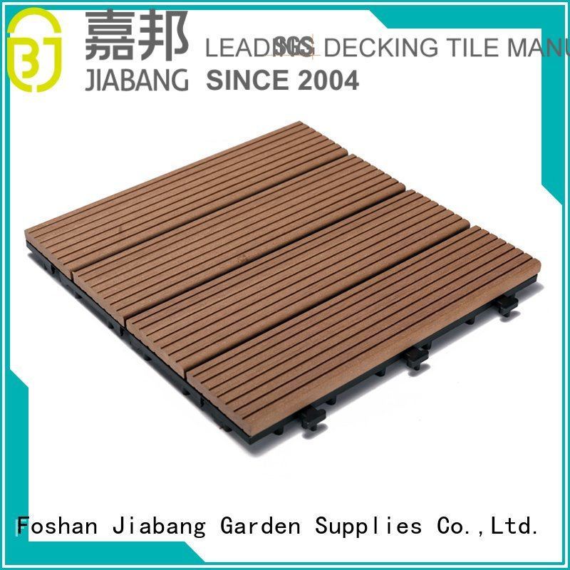 JIABANG Brand wpc composite pool custom composite wood tiles