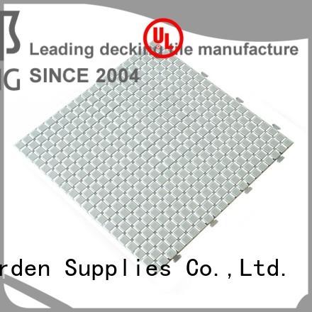 plastic floor tiles outdoor non non slip bathroom tiles JIABANG Brand