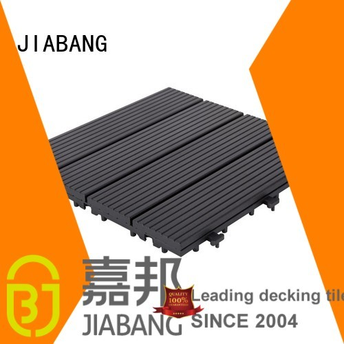 dark outdoor aluminum deck board grey tiles JIABANG company