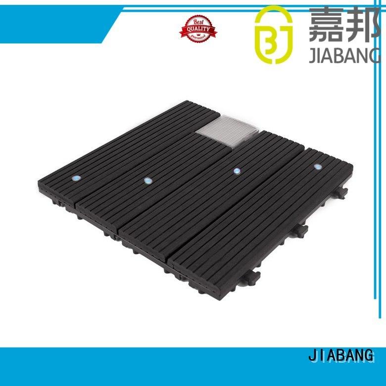 wpc garden balcony deck tiles light home JIABANG company