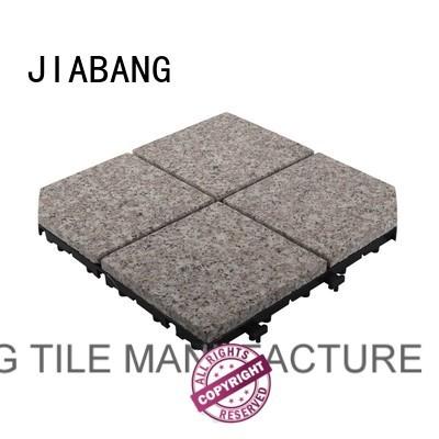 30x30cm exterior porch flooring flamed granite floor tiles JIABANG Brand