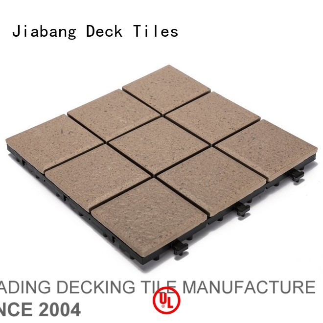 JIABANG Brand jj01 porcelain patio tiles exhibition factory