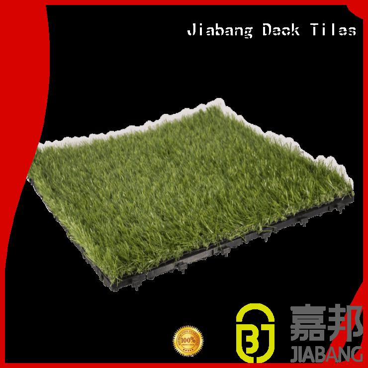 interlocking grass mats patio tiles path Warranty JIABANG