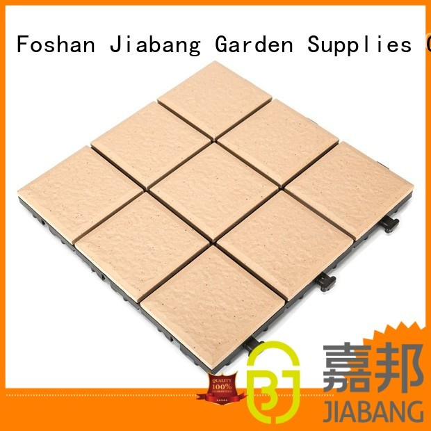 ceramic garden tiles 10cm floor porch JIABANG Brand porcelain patio tiles