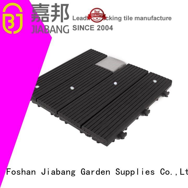 ground lamp ecofriendly solar JIABANG Brand balcony deck tiles supplier