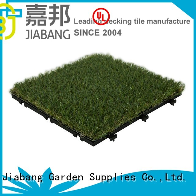 tiles diy deck interlocking grass mats JIABANG Brand